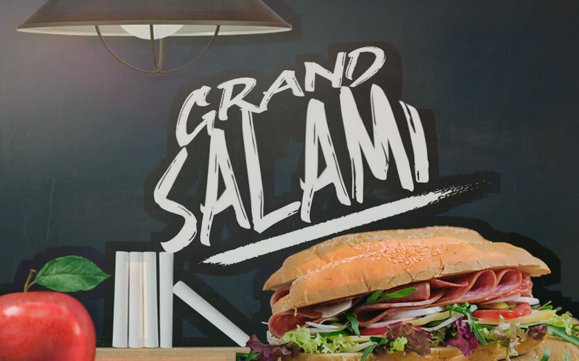 what is a grand salami bet