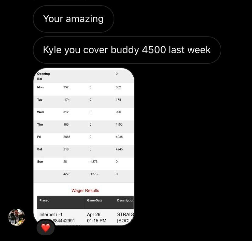 screenshot of a story reply from Instagram